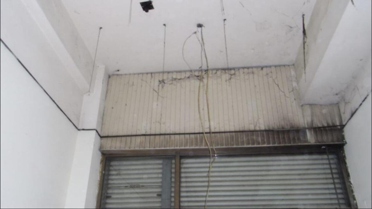 建築設計作品-舊屋翻新-裝修前天花板