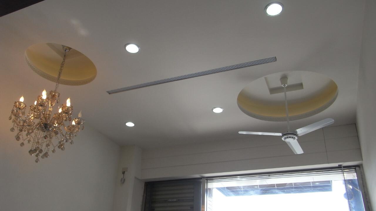 建築設計作品-舊屋翻新-客廳造型天花板