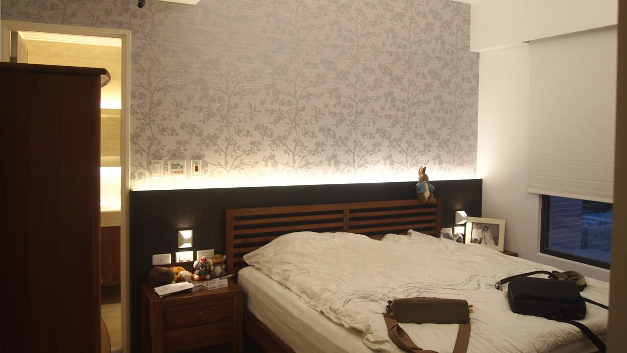室內設計作品-主臥房