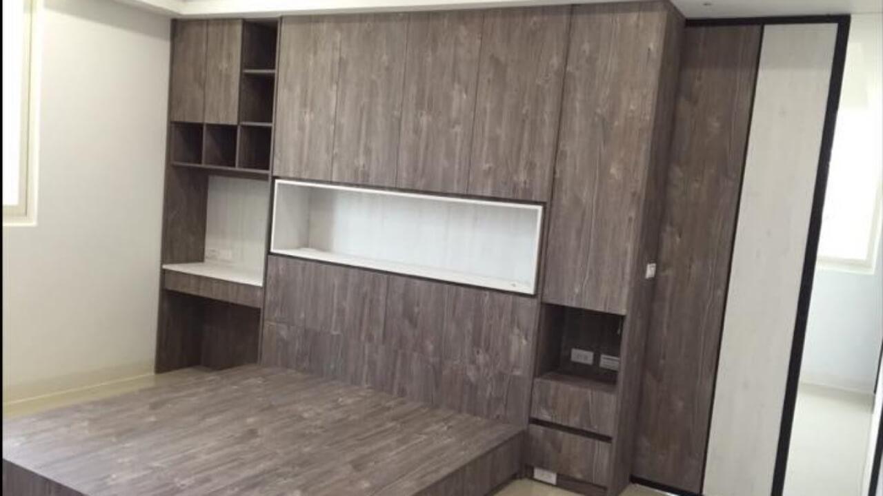 系統櫃作品-新竹-賴小姐-衣櫃與書桌