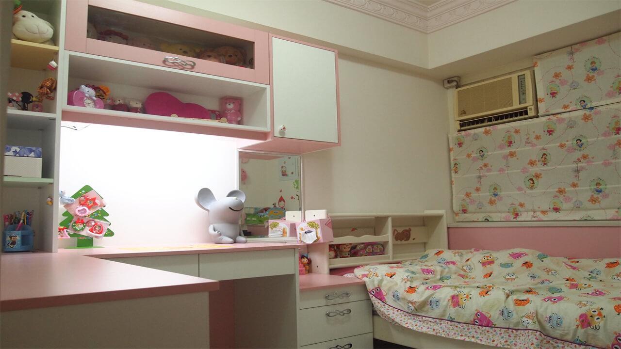 建築設計作品-舊屋翻新-女孩房
