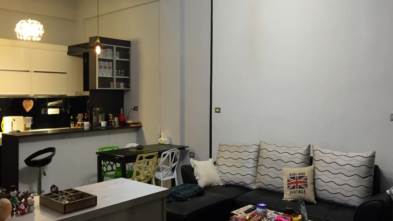 系統櫃作品-東部-張小姐-廚房吧檯